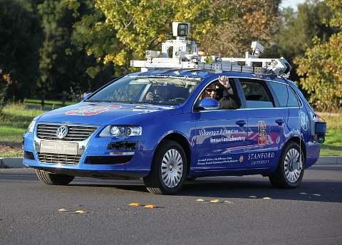 LIDAR device on autonomous vehicle